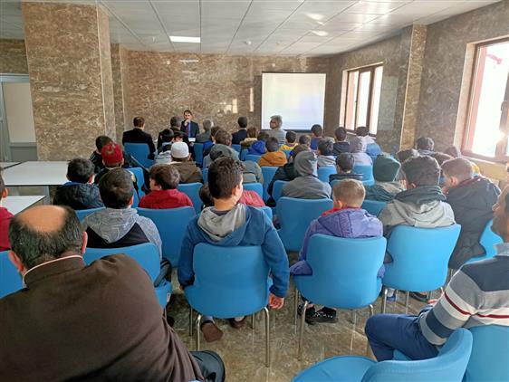 """Trabzon'da """"gençliğe Değer Projesi Ara Dönem Kamp Programı"""" Başladı"""