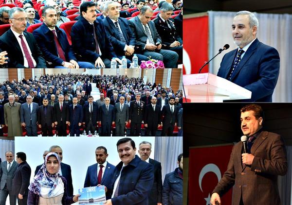 """Erzincan'da """"gençliğin Zaferi Ve çanakkale"""" Konulu Konferans Verildi"""