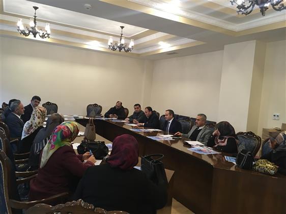 Adana'da Gençlik Koordinatörleri Ve Kyk Manevi Rehberleri Ile Toplantı Yapıldı.