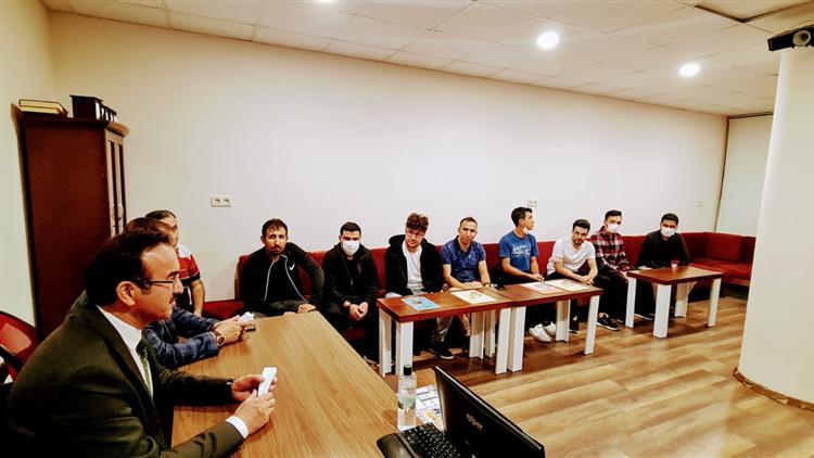 Antalya'da Gençlik Merkezi Ve Türkiye Diyanet Vakfı Evlerine Ziyaret