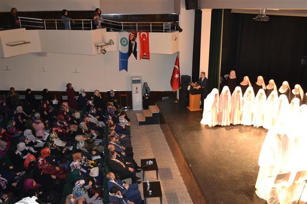 Eskisehir'de Gökmeydan Kız Kur'an Kursu öğrencileri Için Hafızlığa Başlama Töreni Yapıldı