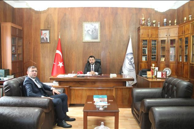 Amasya'da Göynücek Belediye Başkanından Il Müftümüze Ziyaret
