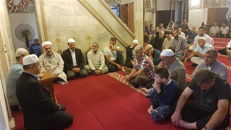 """Hatay'da Habib-i Neccar Camiinde """"sabah Namazı Buluşması"""""""