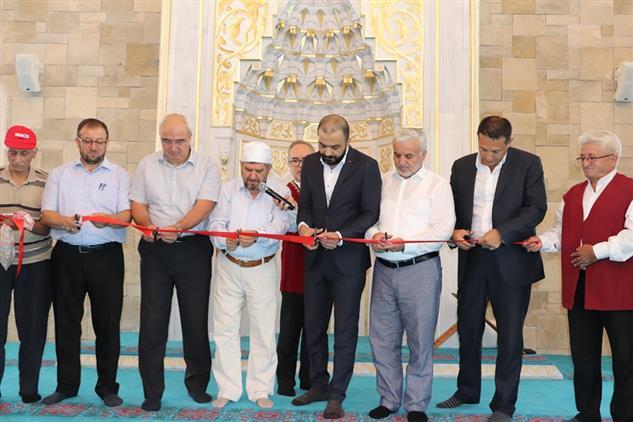 Antalya'da Hacı Mustafa Nergiz Camii Dualarla Ibadete Açıldı