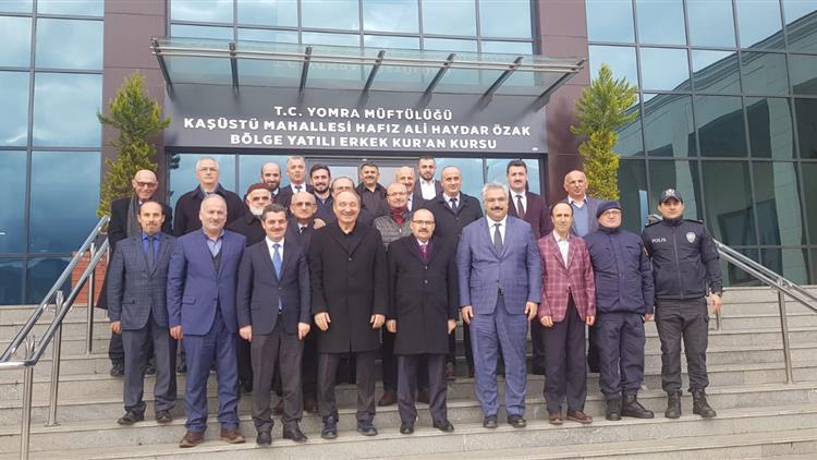 Trabzon'da Hafız Ali Haydar özak Bölge Yatılı Kur'an Kursu'na Ziyaret Gerçekleştirildi