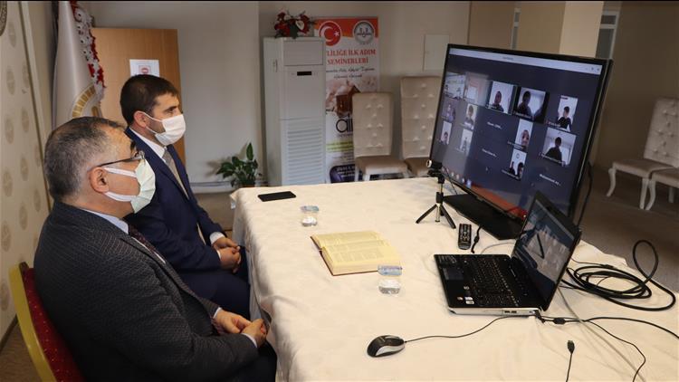 Sivas'ta Hafız öğrenciler Uzaktan Eğitime Devam Ediyor