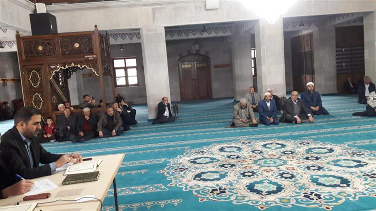 Kars'ta Hafızlık Ve Kur'an-ı Kerim'i Yüzüne Güzel Okuma Yarışması Yapıldı