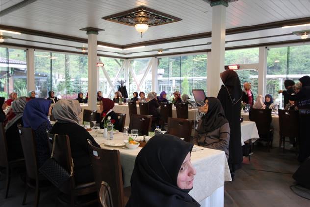 Sakarya'de Hanımlara özel Huzur Dersi