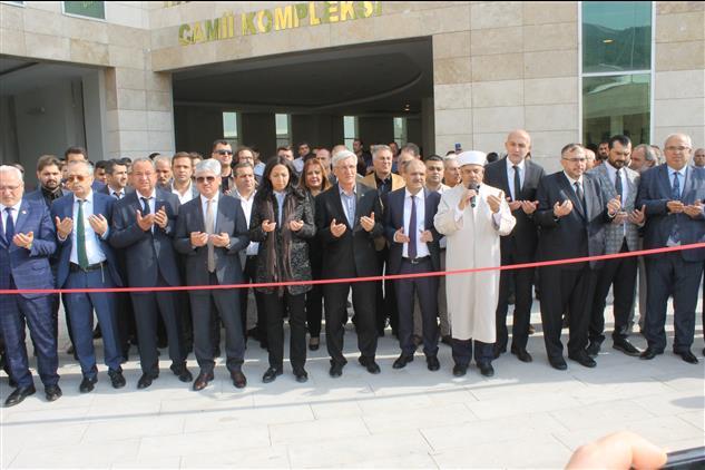 Hatay Mustafa Kemal üniversitesi Hacı Mehmet Alkan Cami Dualarla Açıldı