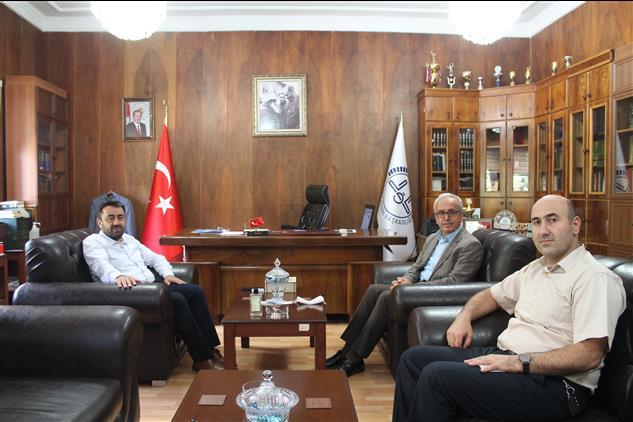Amasya'da Havza Ilçe Müftüsü Mehmet Nurlu Il Müftümüzü Ziyaret Etti