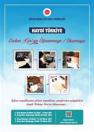 Rize'de Haydi Türkiye, Evden Kur'an öğrenmeye