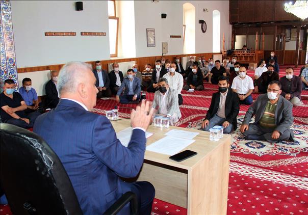 Bilecik'de Haziran Ayı Din Görevlileri Toplantısı şerifpaşa Camiinde Il Müftüsü Ali Erhun Başkanlığında Yapıldı