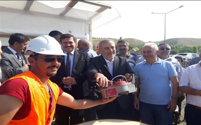 Erzincan'da Hâce Muhammed Nayir Camiinin Temeli Duâlarla Atıldı…