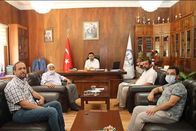 Amasya'da Ihh Ve özgür-der Temsilciliklerinden Il Müftümüze Ziyaret