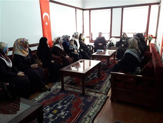 Malatya'da Huzur Derslerinde Ilçe Müftülerimizin Eşleri Ile Buluşma