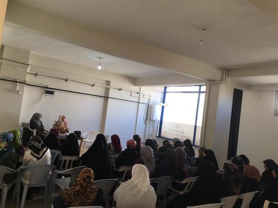 Bingol'de Kadın Konuk Evinde Mevlidi-i Nebi Programı