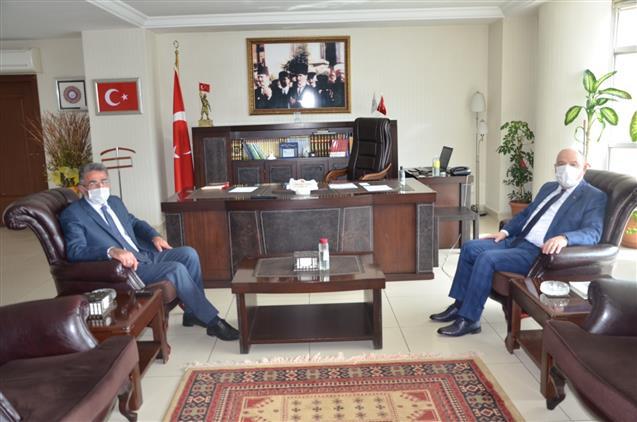 Kahramanmaraş Valisi Sayın ömer Faruk Coşkun Ve Onikişubat Belediye Başkanı Sayın Hanefi Mahçiçek'in Ziyaretleri