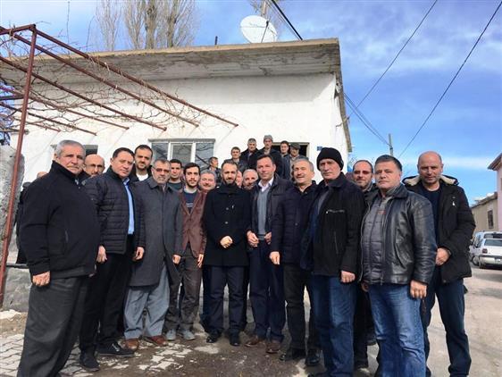 Niğde'de Kahvehanelerde Hasbihal Programı Kapsamında Güllüce Köyü Ziyaret Edildi.