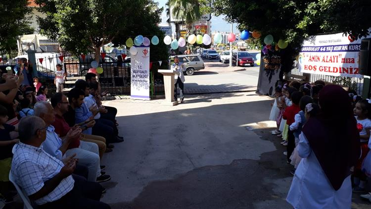 "Antalya'da Karabulut 4-6 Yaş Kuran Kursunda ""amin Alayı"" Programı Düzenlendi"
