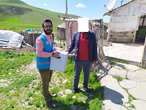 Erzurum'da Karaçoban Ilçe Müftülüğü Ihtiyaç Sahiplerinin Yanında Olmaya Devam Ediyor