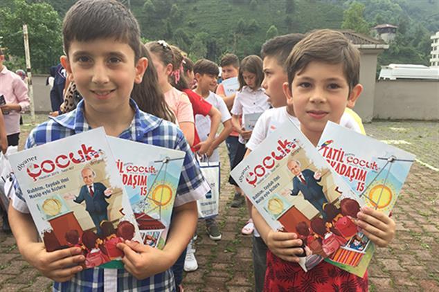Rize'de Karne Hediyesi Diyanet çocuk Dergisi