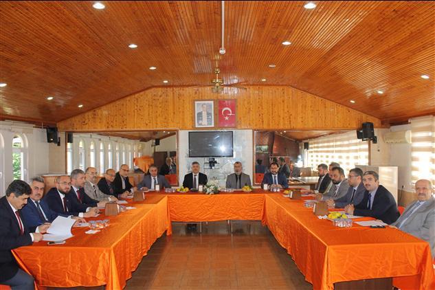 Hatay'da Kasım Ayı Müftüler Toplantısı Erzin Ilçemizde Yapıldı