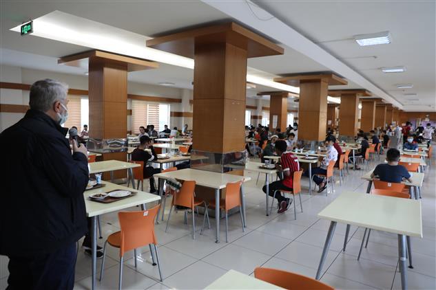 Kayseri'deki Uluslararası öğrencilerle Bayramlaşma