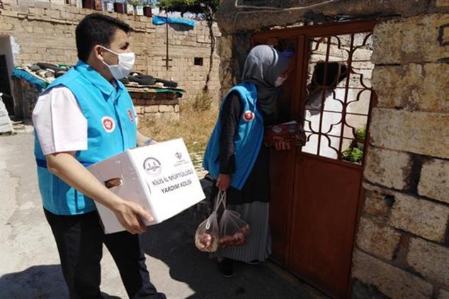 Kilis'te Yardım Faaliyetleri Sürüyor