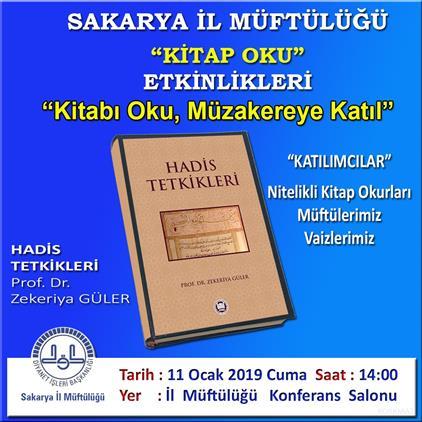 Sakarya'de Kitap Oku, Müzakereye Katıl