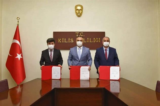 Kilis 7 Aralık üniversitesi Ile Kilis Müftülüğü Arasında Eğitimde Işbirliği Protokolü Imzalandı