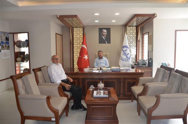 Antalya'da Kocaeli Il Müftü Yardımcısı Ziya Ersin'den Il Müftülüğümüze Ziyaret