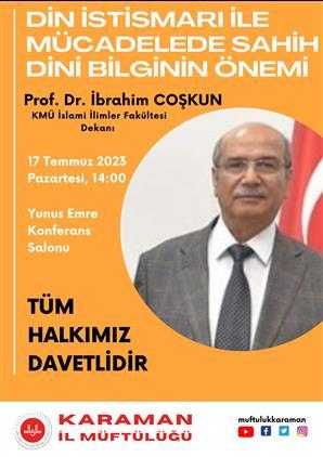 Adana'da Konferansa Davet