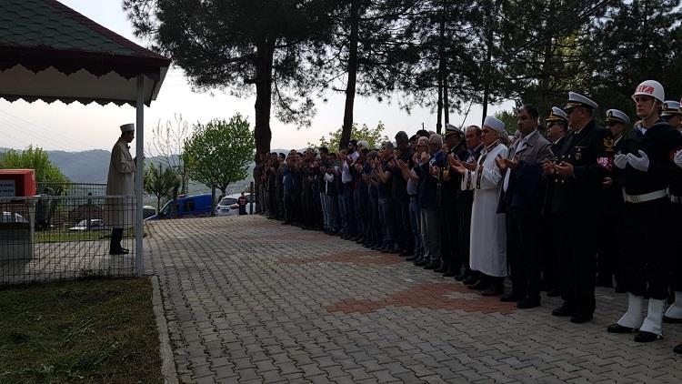 Bartın'da Kore Gazisi Ilyas Sağdıç Hakk´ın Rahmetine Kavuştu.
