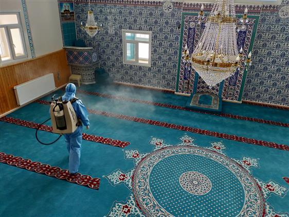 Ardahan'da Koronavirüse Karşı Tedbirler Alındı
