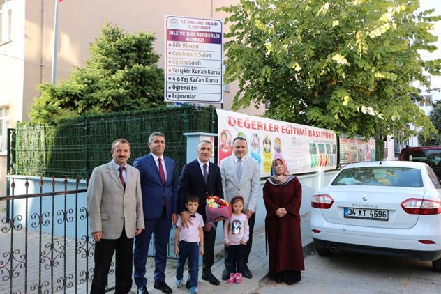 Kırklareli Valimiz Sayın Osman Bilgin Değerler Eğitimi Okulunu Ziyaret Etti