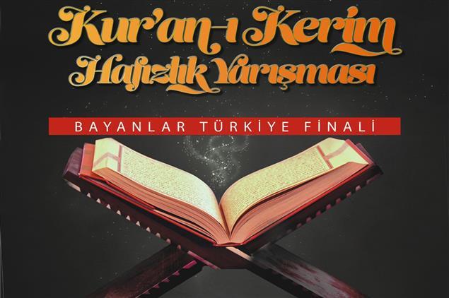 Şanlıurfa'da Kur'an-ı Kerim Hafızlık Yarışması Bayanlar Türkiye Finali