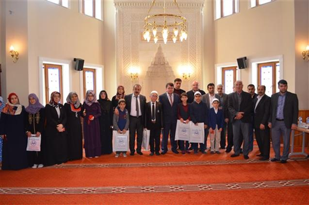 Malatya'da Kur'an-ı Kerim'i Yüzünden Güzel Okuma Bölge Yarışması