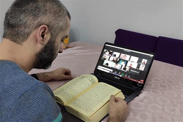 Rize'de Kur'an Kurslarımızda Eğitim, Uzaktan Eğitim Yöntemiyle Devam Ediyor