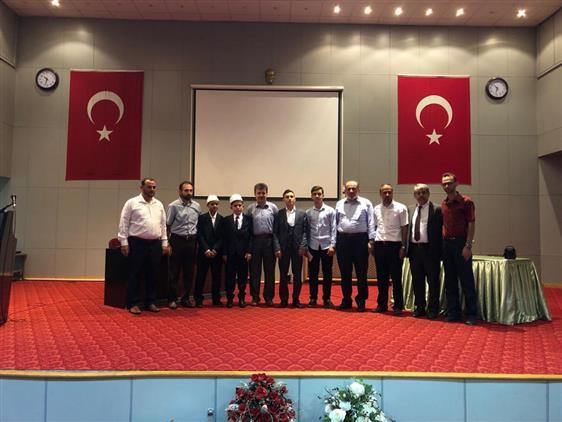 Trabzon'da Kur'an Kursu öğrencileri Arasında Hafızlık Yarışması Yapıldı