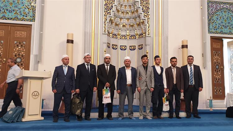 Antalya'da Kur'an-ı Kerim-i Güzel Okuma Bölge Yarışması Yapıldı