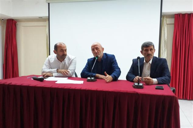 Giresun'da Kur'an Kursları Değerlendirme Toplantısı Yapıldı