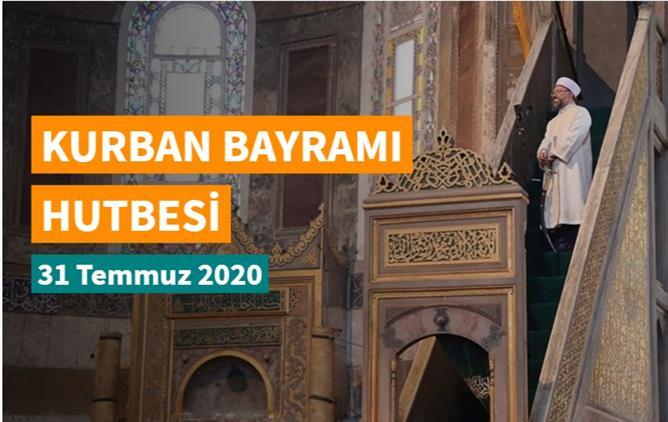 Karaman'da Kurban Bayramı Hutbesi - 2020