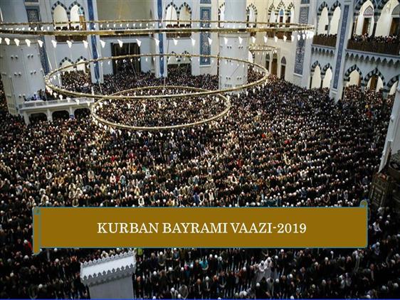 Cankiri'da Kurban Bayram Vaazı
