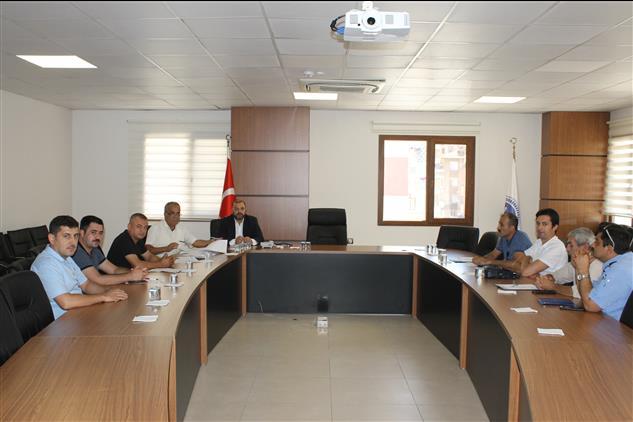 Hatay'da Kurban Hizmetleri Komisyonu Toplantısı Yapıldı
