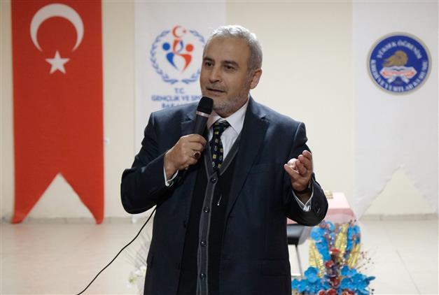 """Erzincan'da Kyk Pir-i Sami Yurdunda """"mevlana'yı Anlamak"""" Konulu Program Düzenlendi"""