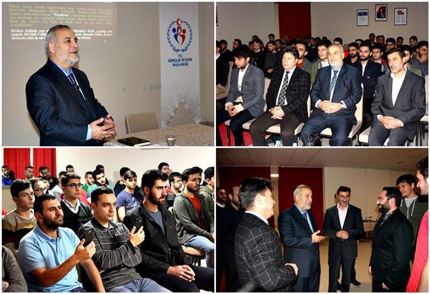 Erzincan'da Kyk Pir-i Samierkek öğrenci Yurdunda Mevlana'yı Anlamak Konulu Konferans Düzenlendi