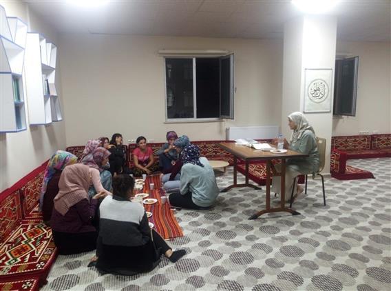 Antalya'da Kyk Yükseköğrenim yurdu öğrencilerine Seminer