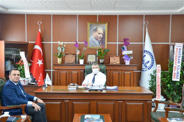 Nevşehir'de Il Göç Idaresi Müdür Vekili Doksar'dan 'hayırlı Olsun' Ziyareti