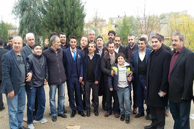 Şanlıurfa'da Il Müftülüğü Personelini Mutlu Gününde Mesai Arkadaşları Yalnız Bırakmadı