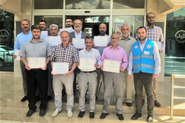 Şanlıurfa'da Il Müftülüğü Personellerinden Tdv'ye Kurban Bağışı